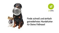 Getreidefreies Hundefutter finden
