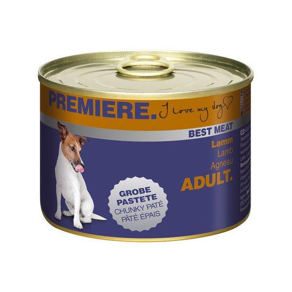 Aliments en boîte/pâtée - Page 13 Hund-nassfutter-premiere-best-meat-adult-lamm