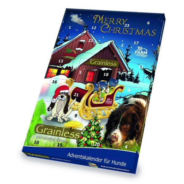 jr farm adventskalender f r hunde snacks hund g nstig im preisvergleich petadilly. Black Bedroom Furniture Sets. Home Design Ideas