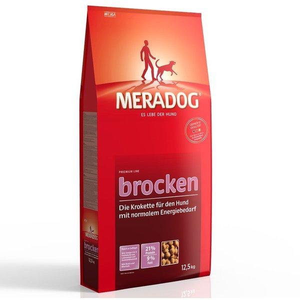 meradog adult brocken mit gefl gel getreide trockenfutter hund g nstig im preisvergleich. Black Bedroom Furniture Sets. Home Design Ideas