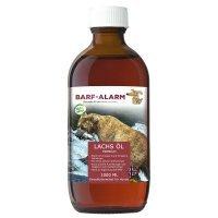 BARF-Alarm Premium Lachsöl für Hunde mit Omega 3 und Omega 6 Fettsäuren