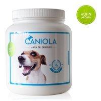 Caniola Natürliche Nahrungsergänzung für Hunde bei Arthrose, Gelenkproblemen, Gelenkschmerzen (Huhn Aroma)