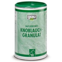 Grau Knoblauch-Granulat