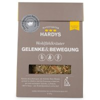Hardys Nahrungsergänzung Wohlfühlkräuter Gelenke & Bewegung