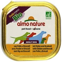 Almo Nature Daily Menu Bio Pate Huhn mit Brocolli