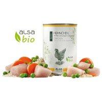 alsa nature BIO Hühnchen mit Reis und jungem Gemüse