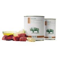 alsa nature Bison mit Pastinake, Rote Bete & Apfel