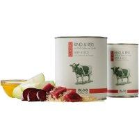 alsa nature Classic Rind & Reis mit Rote Bete & Apfel
