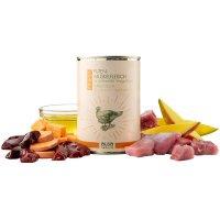 alsa nature FINEST Puten-Muskelfleisch mit Süßkartoffel, Mango & Leinöl
