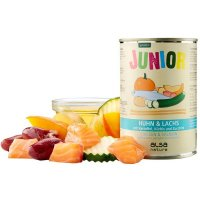 alsa nature Junior Huhn & Lachs mit Kartoffel, Kürbis & Zucchini