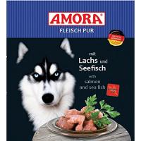 Amora Fleisch Pur mit Lachs & Seefisch
