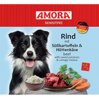 Amora Sensitive Rind mit Süßkartoffel & Hüttenkäse