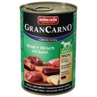 animonda GranCarno Adult Rind + Hirsch mit Apfel