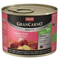 animonda GranCarno Adult Sensitive mit Rind + Kartoffeln