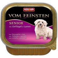 animonda Vom Feinsten Senior mit Geflügel + Lamm