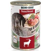 BEWI DOG Fleischkost reich an Wild