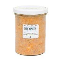 BIOPUR Adult Rind, Nudeln Karotten im Glas