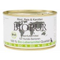 BIOPUR Senior Rind, Reis, Karotten