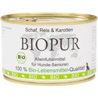 BIOPUR Senior Schaf, Reis, Karotten