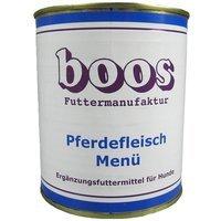 Boos Pferdefleisch-Menü