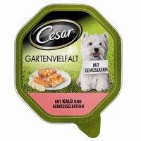 Cesar Gartenvielfalt mit Kalb & Gemüseselektion