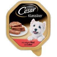 Cesar Klassiker mit saftigem Rind & Leber