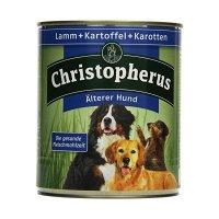 Christopherus Älterer Hund Lamm Kartoffeln & Karotten