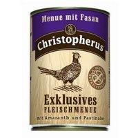 Christopherus Menue mit Fasan mit Amaranth & Pastinake