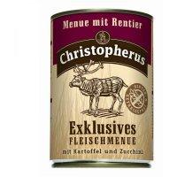 Christopherus Menue mit Rentier mit Kartoffel & Zucchini