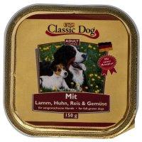 Classic Dog Adult Lamm, Huhn Reis & Gemüse