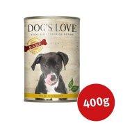 Dogs Love B.A.R.F. Huhn Pur