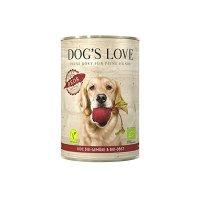 Dogs Love BIO Gemüse Hundefutter Reds Vegan mit Gemüse & Obst