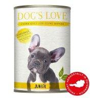 Dogs Love Junior Geflügel mit Zucchini & Apfel