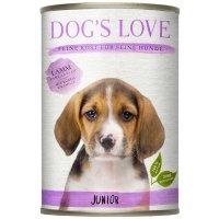 Dogs Love Junior Lamm mit Spinat & Kamille