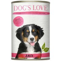 Dogs Love Junior Rind mit Karotte & Salbei
