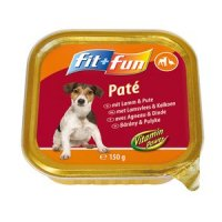 fit+fun Paté Adult Lamm & Pute