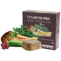 Fleischeslust Vitaminbombe Kartoffeln, Zucchini, Pastinaken und Waldbeeren
