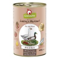 GranataPet Lieblings Mahlzeit Ente und Gans