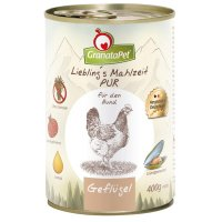 GranataPet Lieblings Mahlzeit Geflügel Pur