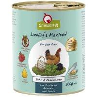 GranataPet Lieblings Mahlzeit Huhn & Pastinaken