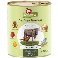 GranataPet Lieblings Mahlzeit Rind & Fasan