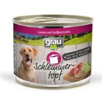 Grau Schlemmer-Topf - Lamm mit Vollkornreis