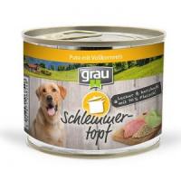 Grau Schlemmer-Topf - Pute mit Vollkornreis