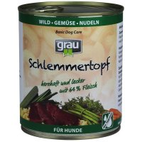 Grau Schlemmer-Topf Wild, Gemüse & Nudeln