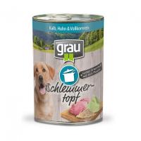 Grau Schlemmertopf - Kalb, Huhn & Vollkornreis