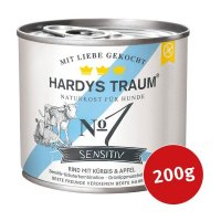 Hardys Traum Nassfutter Sensitiv No. 1 Rind