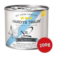 Hardys Traum Nassfutter Sensitiv No. 2 Huhn