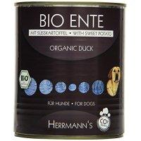 Herrmanns Bio-Ente mit Süßkartoffeln