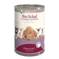 Herrmanns Bio-Schaf mit Mangold und Kartoffeln