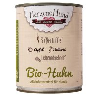 HerzensHund Bio-Huhn mit Bio-Gemüse